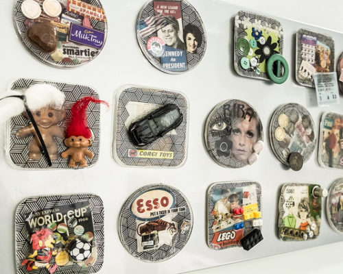Foundation Diploma in Art & Design student work magnets