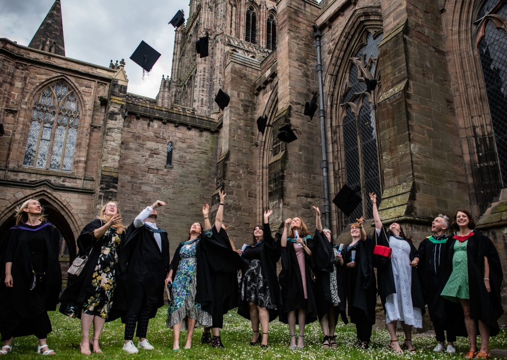 Hereford College of Arts celebrates another graduate year! 8